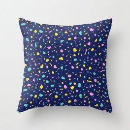 Tropic Terrazzo 2 Throw Pillow