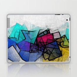 the puzzled horizon Laptop & iPad Skin