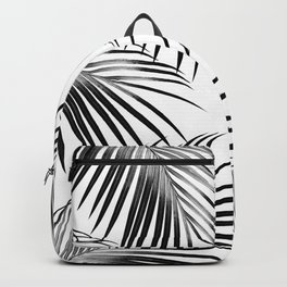 Black Palm Leaves Dream #2 #tropical #decor #art #society6 Backpack