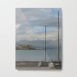 Antibes Sailboats 2 Metal Print