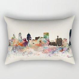 buffalo city new york Rectangular Pillow