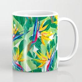 Summer Strelitzia Coffee Mug