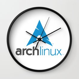Arch Linux Wall Clock
