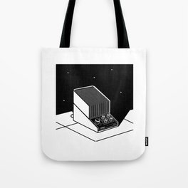 White noise in space Tote Bag