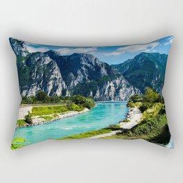 A River Runs Through It II Rectangular Pillow