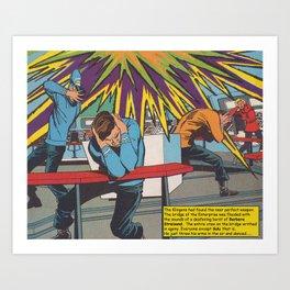 Dancing Among the Stars Art Print
