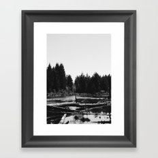 Witch's Bog Framed Art Print