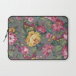 butterflies & roses Laptop Sleeve
