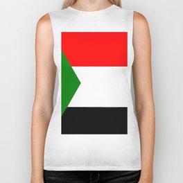 flag of sudan 2 -sudan,السودان ,sudanese,nubia,khartoum,omdurman Biker Tank