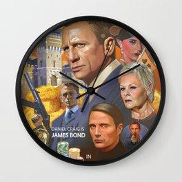 James Bond - Casino Royale Wall Clock