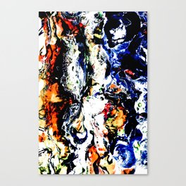 silly rabids Canvas Print