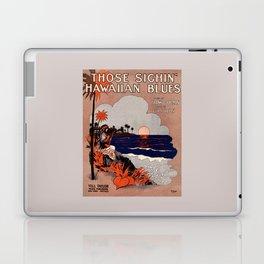 1916 Vintage Hawaii blues sheet music cover  Laptop & iPad Skin