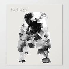 the bulldog  Canvas Print