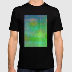 IT'S A SUNNY DAY Mens Fitted Tee MEDIUM Black