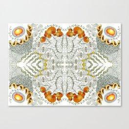 Orange Gems Canvas Print