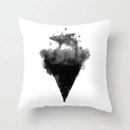 Splashed with joy Throw Pillow