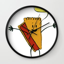 Easy as Pie! Wall Clock