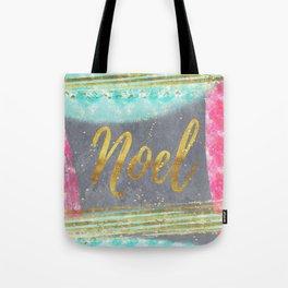 NOEL-Merry modern abstract christmas Tote Bag