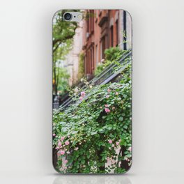West Village Summer Blooms iPhone Skin