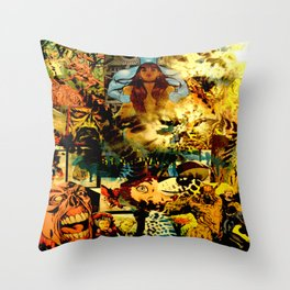 AJ Throw Pillow