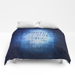 That's who I am   Doctor Who Comforters