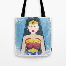 Wonder Grunge Woman Tote Bag