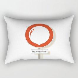 Be Creative!  Rectangular Pillow