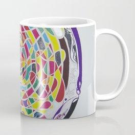 Mind Reflection - Contemporary Art Coffee Mug