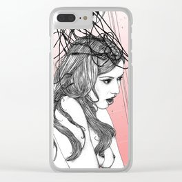 asc 862 - L'arrière-pensée (Is this my worst thought?) Clear iPhone Case