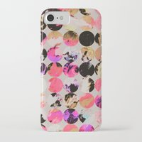 circles iPhone & iPod Cases featuring Circles by Georgiana Paraschiv