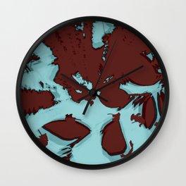 2020 Fall/Winter 16 Aquamarine Wall Clock