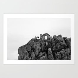 Roche Rock Art Print