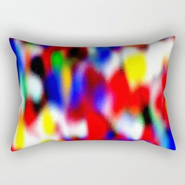 Nubosidad multicolor 22 Rectangular Pillow