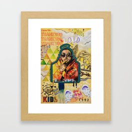 Remember Mac Miller Framed Art Print