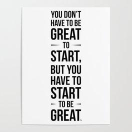 Start! Poster