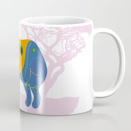 Elephant, Africa's Rainbow Coffee Mug