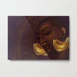 Fulani Metal Print
