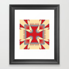 Political Nation Framed Art Print