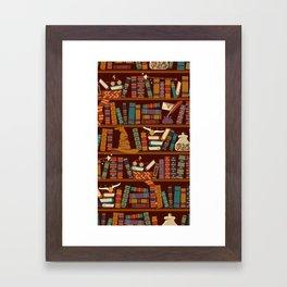 Hogwarts Things Framed Art Print