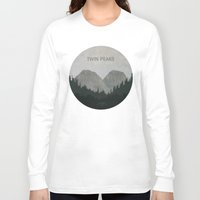 twin peaks Long Sleeve T-shirts featuring Twin Peaks by avoid peril