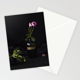 Floral scene Stationery Cards