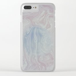 Light Abstraction Clear iPhone Case