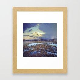 Rising Mist Framed Art Print