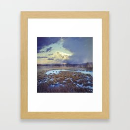 Rising Mist Framed Art Print