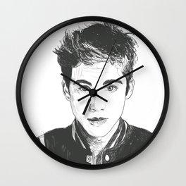 Logan Lerman Wall Clock