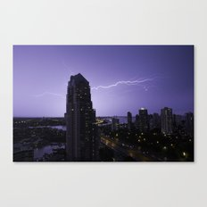 A Powerful Touch Canvas Print