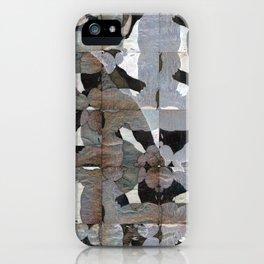 Rorschach Quilt iPhone Case