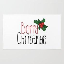 Berry Christmas Rug