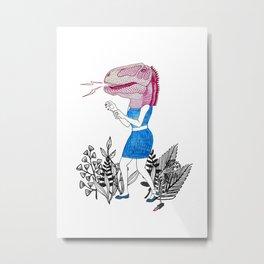 Grrr! Metal Print