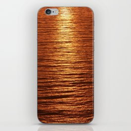 copper sea iPhone Skin